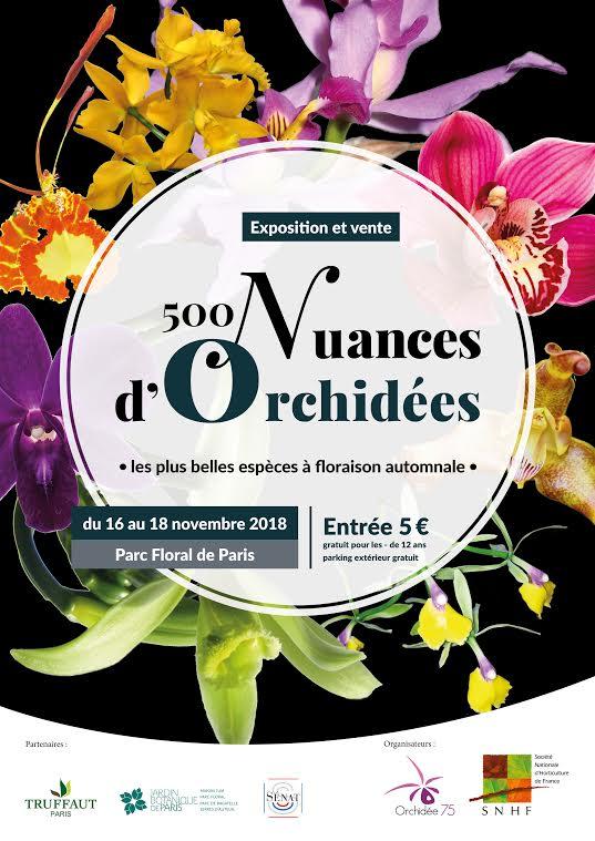 Paris (75) : Expo-vente d\'Orchidées | Jardin Pratique